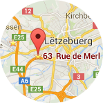Plan d´accès Luxembourg